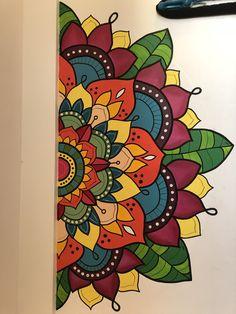 Mandala Art Lesson, Mandala Artwork, Mandala Drawing, Mandala Painting, Wall Painting Decor, Indian Art Paintings, Madhubani Painting, Buddha Art, Wall Drawing