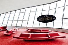 Terminal de la TWA de Eero Saarinen, 1962; Restauración, Beyer Blinder Belle. Fotografía © Connie Zhou.