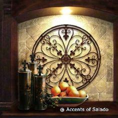 Tuscan decoration!