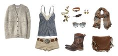 """Country - Loose Lips"" by brublue ❤ liked on Polyvore"