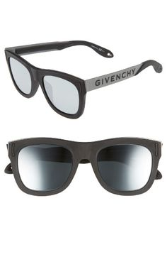 d2f2b272137 GIVENCHY 52Mm Mirrored Rectangular Sunglasses.  givenchy   Givenchy Man