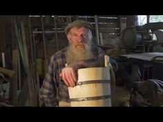 Traditional Cooper - George Smithwick - History and how to make a wooden bucket - YouTube
