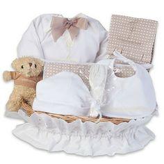 Canastilla Bebé. Small Clásica. Baby Gift Baskets. La Cigüeña del Bebé