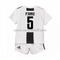 Billige Fotballdrakter Juventus Barn 2018-19 Miralem Pjanic 5 Hjemme Draktsett Fotball Kortermet Sports, Tops, Hs Sports, Sport, Shell Tops