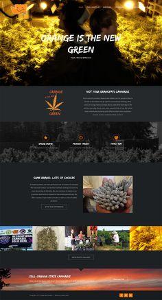 Website design for a
