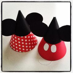 Mickey OR Minnie Mouse Party Hats.