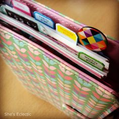 She's Eclectic: April Filofax photo-a-day challenge, day five - up close and personal