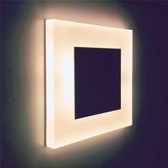 Modern LED lights for Modern Life Stair Wall Lights, Recessed Wall Lights, Stair Walls, Led Wall Lamp, Stairs, Bedside Lighting, Bedroom Lighting, Spring Steel, Acrylic Colors
