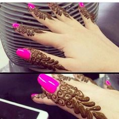 Find images and videos about pretty, tattoo and drawing on We Heart It - the app to get lost in what you love. Mehndi Designs For Fingers, Mehndi Art Designs, Fingers Design, Bridal Mehndi Designs, Beautiful Henna Designs, Favim, Mehendi, Girly Things, Tatting