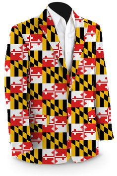 The Maryland Flag has long inspired pride from Marylanders, and envy from citizens of states with lesser flags. Loudmouth Golf has returned color