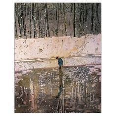 Peter Doig 'Blotter' an impressive painting that won the John Moores prize in 1993