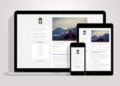 Simplicity - Clean Tumblr Theme by CubThemes on @creativework247