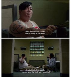 "She's totally down with her sinister self. | 16 Times Boo From ""Orange Is The New Black"" Was The Realest Bitch In Litchfield"