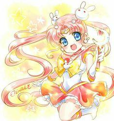 Sailor Parallel Moon! Tsukino Kousagi