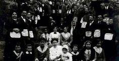 También hubo mujeres masonas en Andalucía como este grupo de la logia 'Isis' durante una visita a las ruinas de Itálica en 1912.