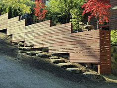 Image result for horizontal picket fence designs