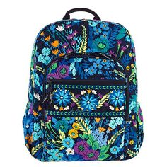 Campus Backpack in Midnight Blues