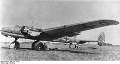 The Americans have captured pose of the rarity of the prototype long-range reconnaissance Messerschmitt Me 261 V2 at the airport in Rehfelde, in the spring of 1945