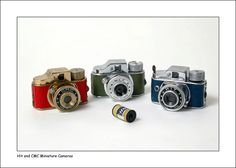 Hit and CMC Miniature Cameras