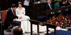 Royal Wedding of Princess Eugenie of York to Jack Brooksbank at Windsor Castle. Prince Andrew, Prince Charles, Prince Philip, Princesa Eugenie, Princess Eugenie Jack Brooksbank, Princess Beatrice Wedding, Eugenie Wedding, Eugenie Of York, Saint Georges