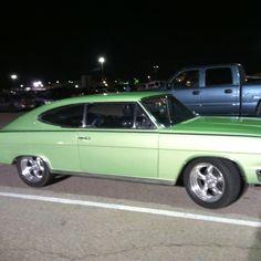 Some jerk at the fair had a badass car