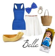 Belle outfit. I will need this for Disney lol.