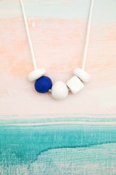 Fabulous make it clay bead necklaces via design love fest desertfroth desertfroth