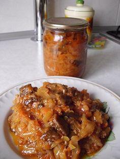 Солянка грибная с капустой, готовим впрок