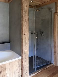 Small Bathroom Renovations 116671446584790305 - View full picture gallery of Mazot In Megeve Source by leoniegesse Rustic Bathroom Designs, Rustic Bathrooms, Modern Bathroom, Small Bathroom, Bathroom Shelves, Rustic Bathroom Makeover, Farmhouse Interior, Diy Garden Decor, Bathroom Renovations