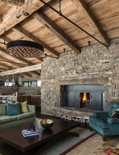 Love this fireplace with the metal.  Would prefer glass on the doors.  BEAUTIFUL!