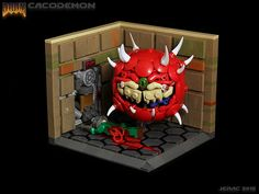 Lego Cacodemon is ready to devour your minifigs