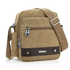 e14933152822 man cave New 2017 Men s Travel Bags Fashion Canvas Men Messenger Bags  Vintage Shoulder Bags Solid