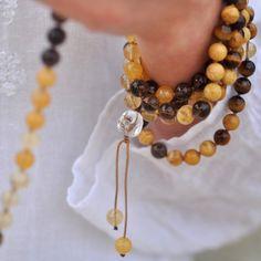 i Love Chakra — happy buddha solar plexus mala - abundance - Crystal Chakra Jewellery