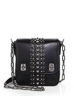 Miu Miu Studded Shoulder Bag - Avenue K