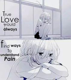 True Love ........Understand Pain