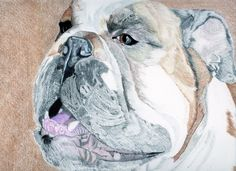 "This one I done in prismacolor and polycolor. size 16x20. ""Bubba"""