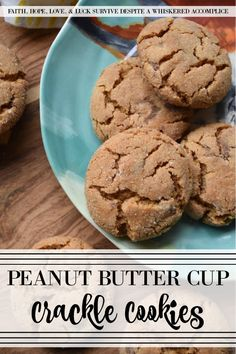 Peanut Butter Cup Crackle Cookies - These sweet cookies are similar to your favorite holiday peanut butter crackle cookies, with an added peanut butter and chocolate treat mixed in. I think you'll find that the addition of chopped peanut butter cups helps make this family favorite cookie even better than the classic original.