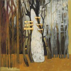 Miguel Curani. Artista plástico: la catedral oleo s/ tela 30x30cm
