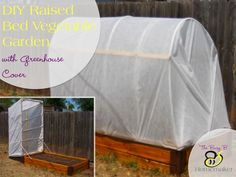 DIY Raised Bed Veget