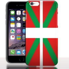 Coque iPhone 7 Drapeau Pays Basque ( Protection Rigide / Silicone ) 4.7 pouces