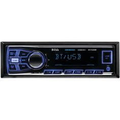 Single-DIN In-Dash Mechless AM/FM Receiver (With Bluetooth(R)) - BOSS AUDIO - 611UAB