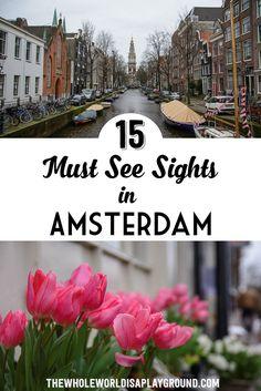 Amsterdam Must See Pinterest