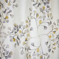 Cotton Canvas Vine Lattice Curtain - Horseradish | West Elm. VERY PRETTY, and would tie ALL rooms together!