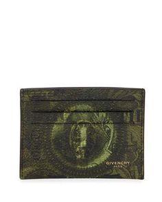 Givenchy Money-Print Card Case