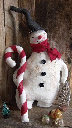 Snowman.  Fab blog: *****  http://littleartycraftycrow.blogspot.com/