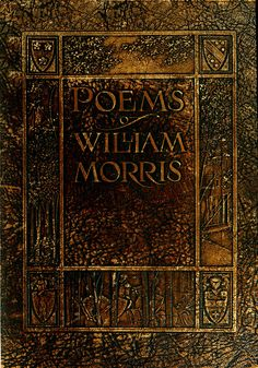 """""""Early poems of William Morris"""" illustrated by Florence Harrison. US edition leather cover. Dodge Publishing Co.; New York, 1914"""