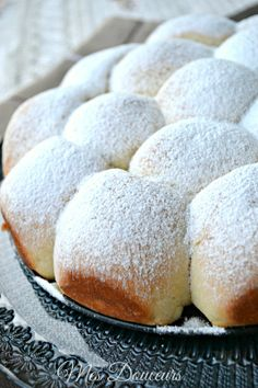 Brioche Buchty Czech Recipes, Croissants, Donuts, Goodies, Cooking Recipes, Bread, Snacks, Baking, Sweet