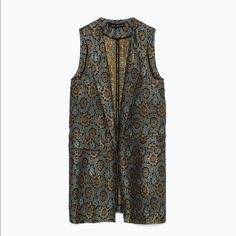 Zara NWT Waistcoat Vest M Zara Waistcoat Vest - Size M - BRAND NEW WITH TAGS ATTACHED - Gorgeous in Person Zara Jackets & Coats Vests
