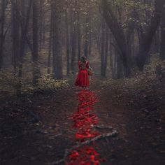 The Trail of Red by parvanaphotography on DeviantArt