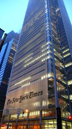 New York Times Building Renzo Piano  #architecture #Piano #Renzo Pinned by www.modlar.com
